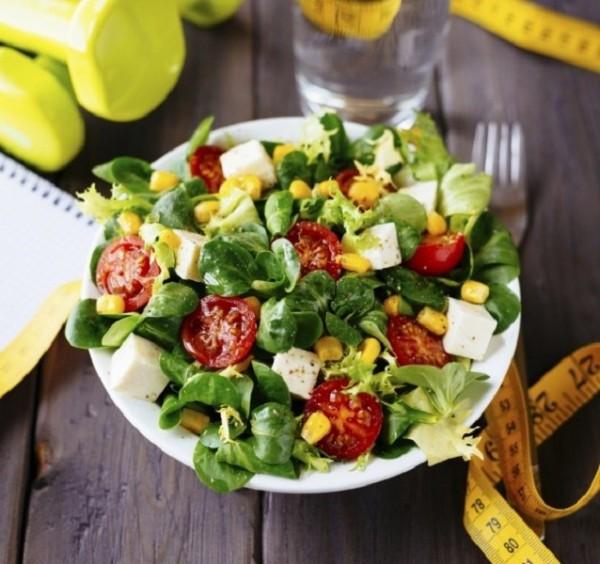saláta étel fogyókúra