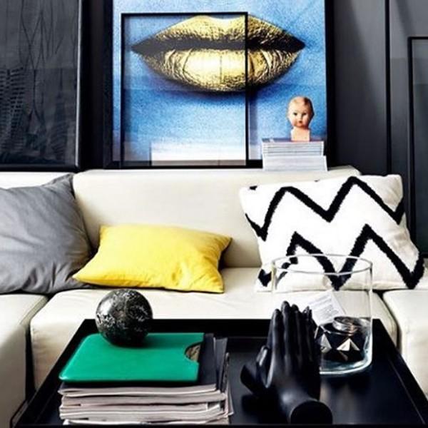 Sosem találjátok ki, melyik színtől válhat otthonosabbá a lakásotok! fekete lakberendezés