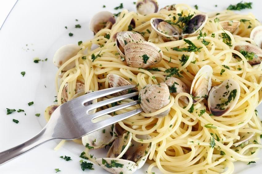 Spaghetti alle vongole - kagylós spagetti