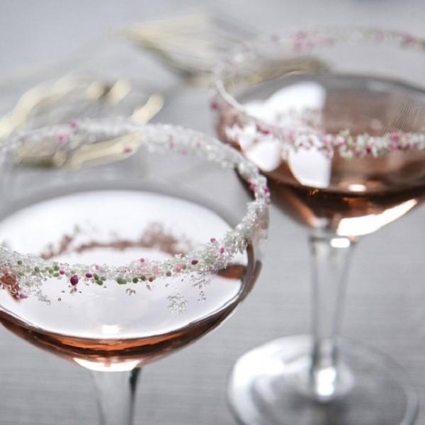 szilveszteri pohár dekor