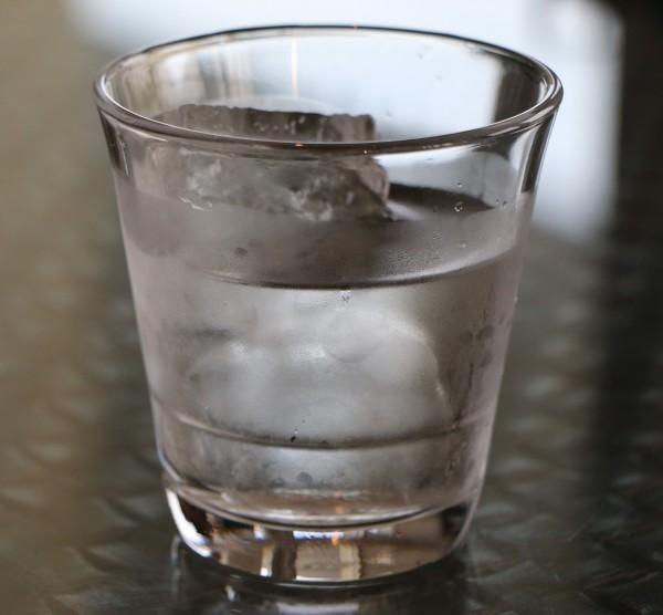 víz jég pohár