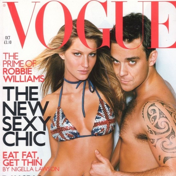 Vogue Robbie Williams